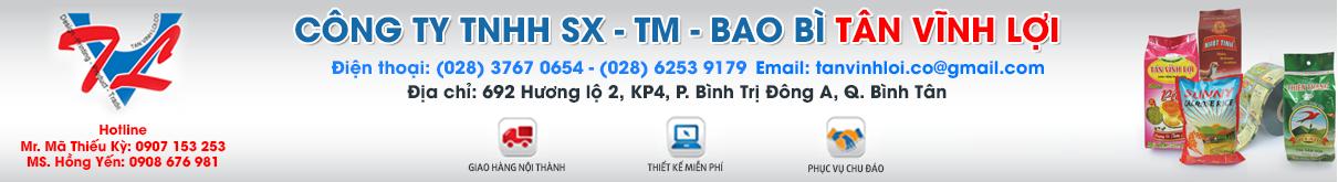 CÔNG TY TNHH SX - TM - BAO BÌ TÂN VĨNH LỢI